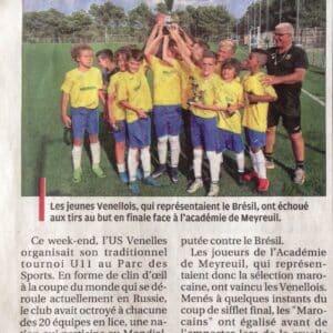 La Provence - Les U11 ont disputé leur Coupe du Monde (17 Juin 2018)