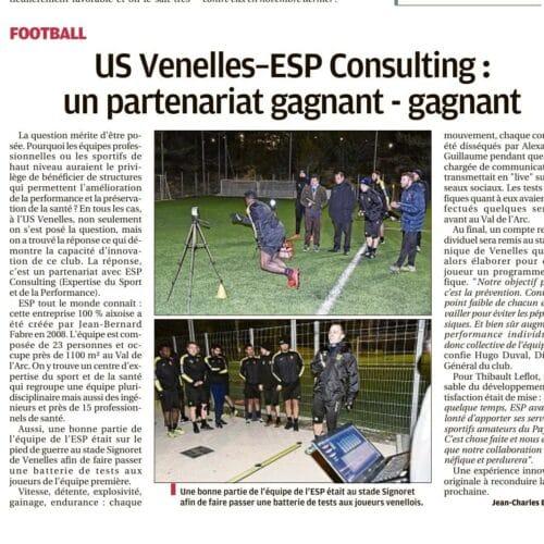 La Provence - USV ESP Un partenariat gagnant-gagant (16 Mars 2018)