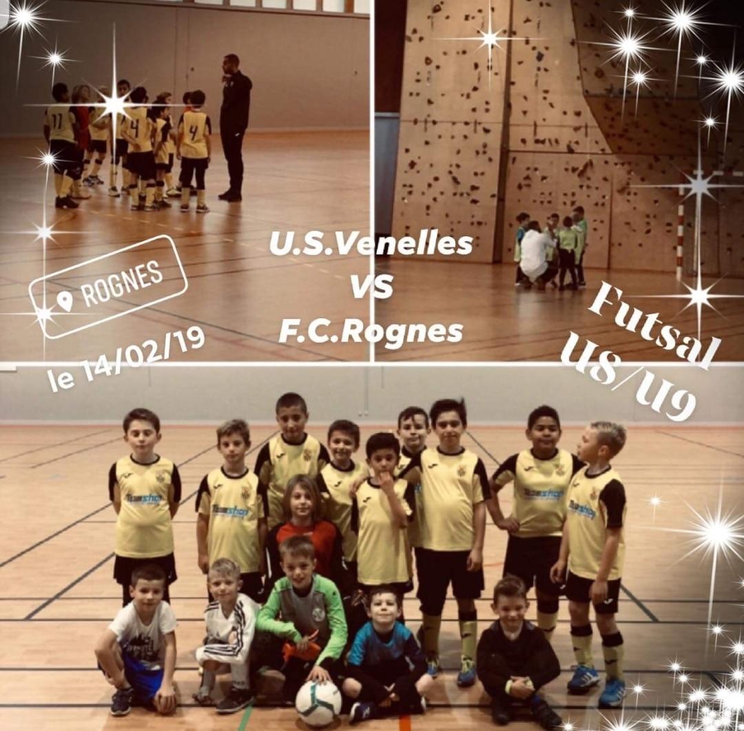 Tournoi U9 FC Rognes - USV