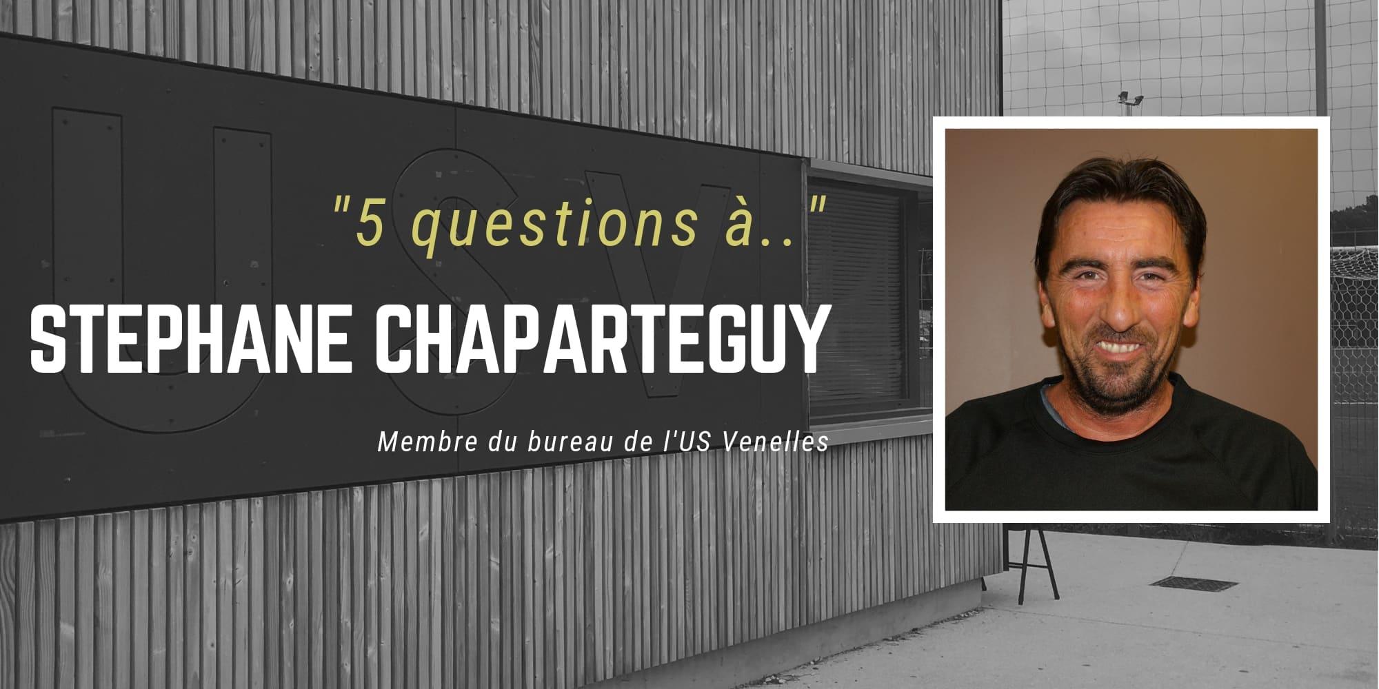 """""""5 questions à... Stéphane Chaparteguy - USV"""