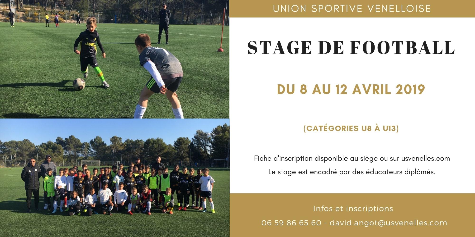 Stage de Pâques 2019 - USV
