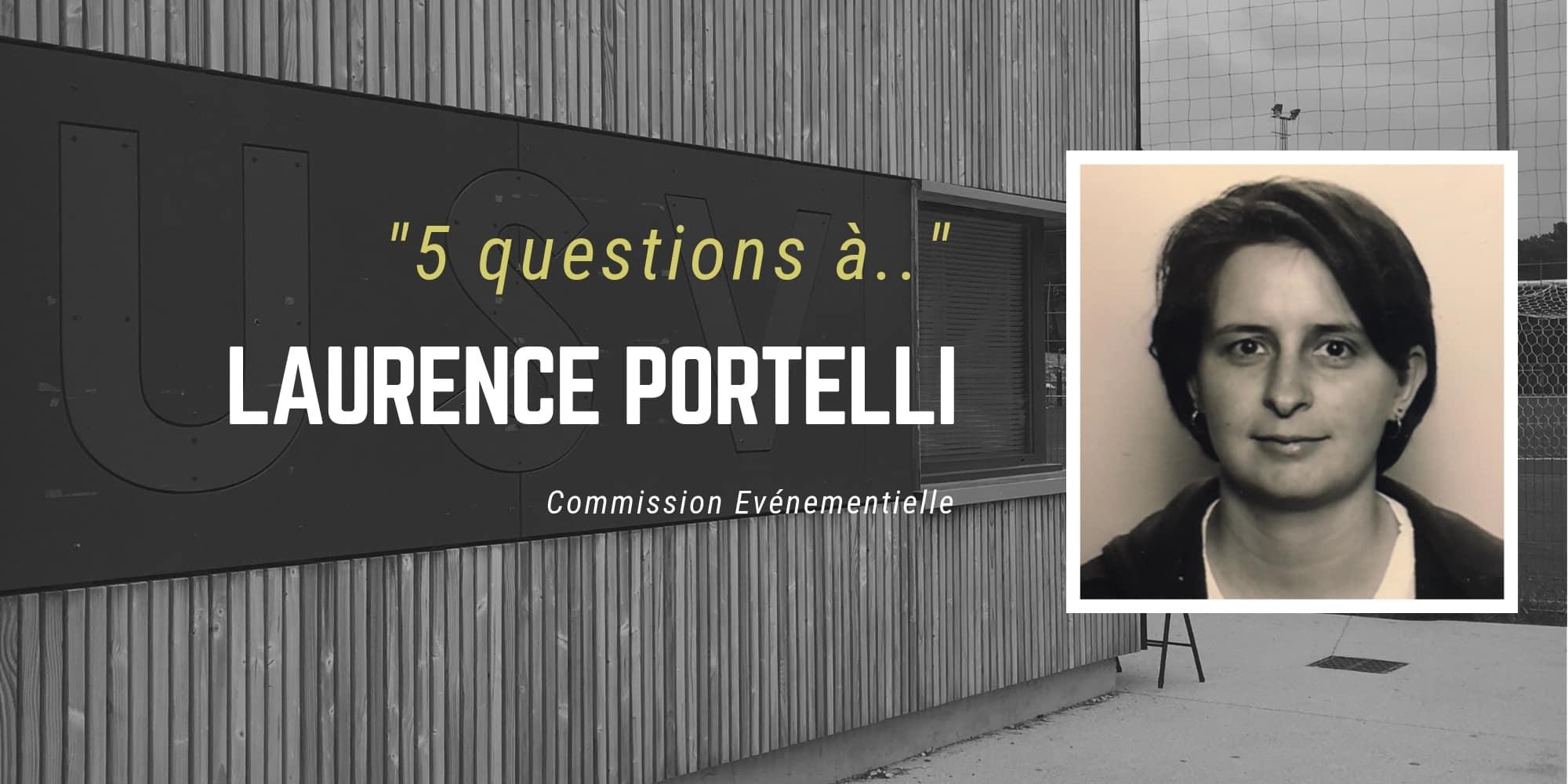 5 questions à… Laurence PORTELLI – Commission événementielle - USV