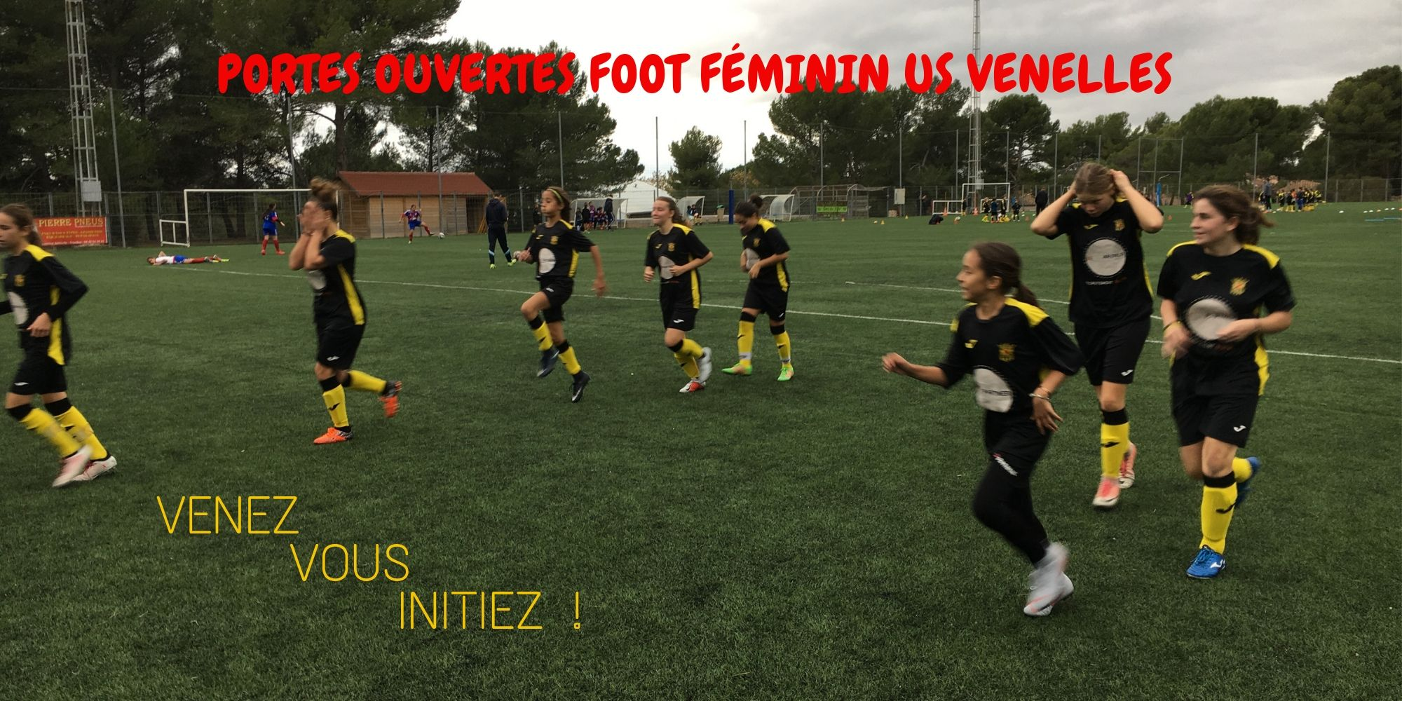Portes ouvertes Foot féminin - USV