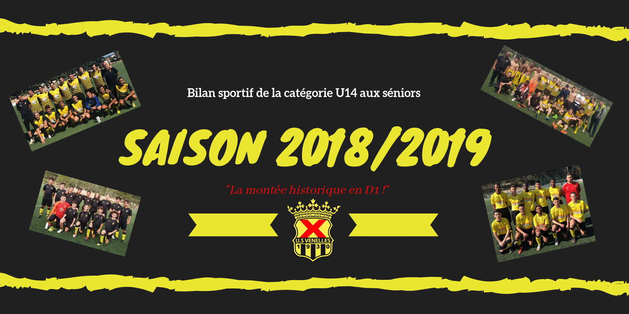 Bilan sportif de Saison 2018-2019 Foot à 11 - USV
