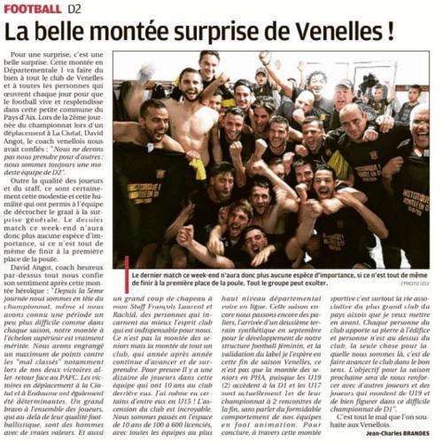La Provence - La belle montée surprise de Venelles ! (18 Mai 2019)