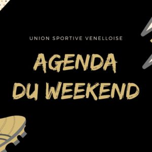USV - AGENDA DU WEEKEND 2019-2020