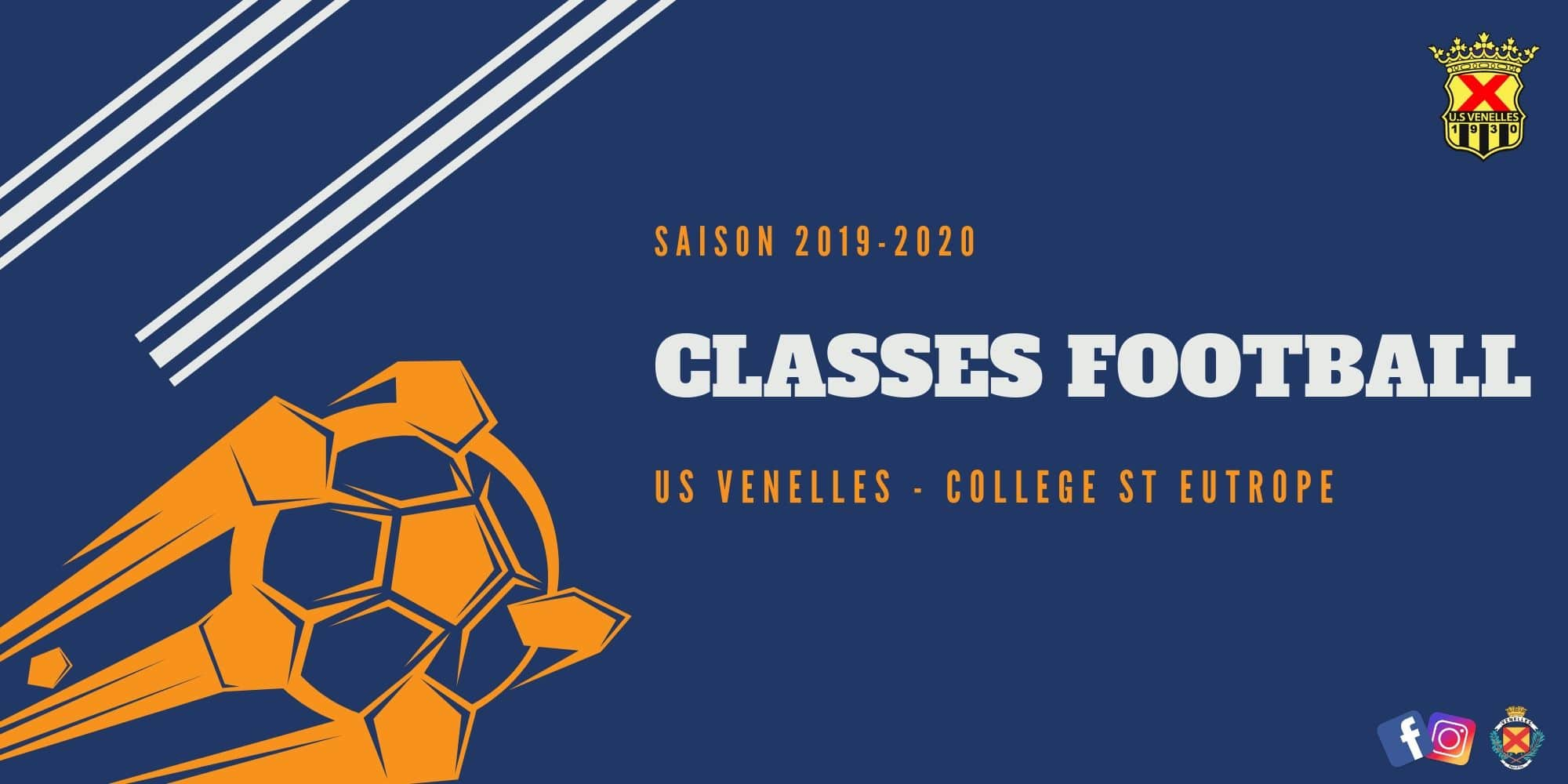 Classe football USV - St eutrope
