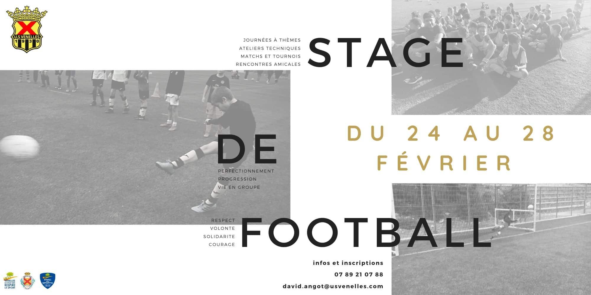 Stage de football Février 2020- USV