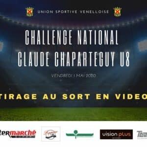 Tirage au sort Challenge National Claude Chaparteguy U8 - USV
