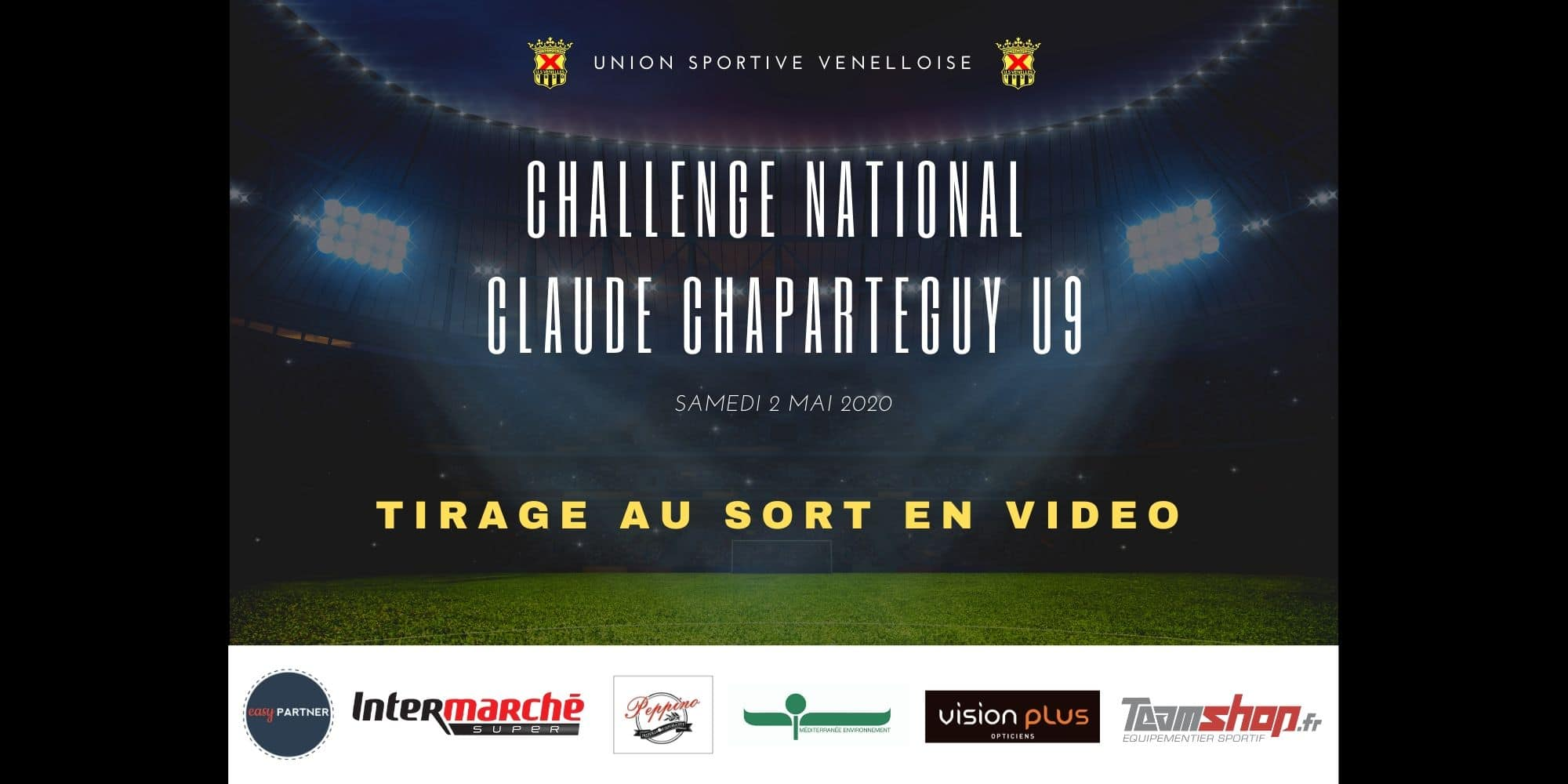Tirage au sort Challenge National Claude Chaparteguy U9 - USV