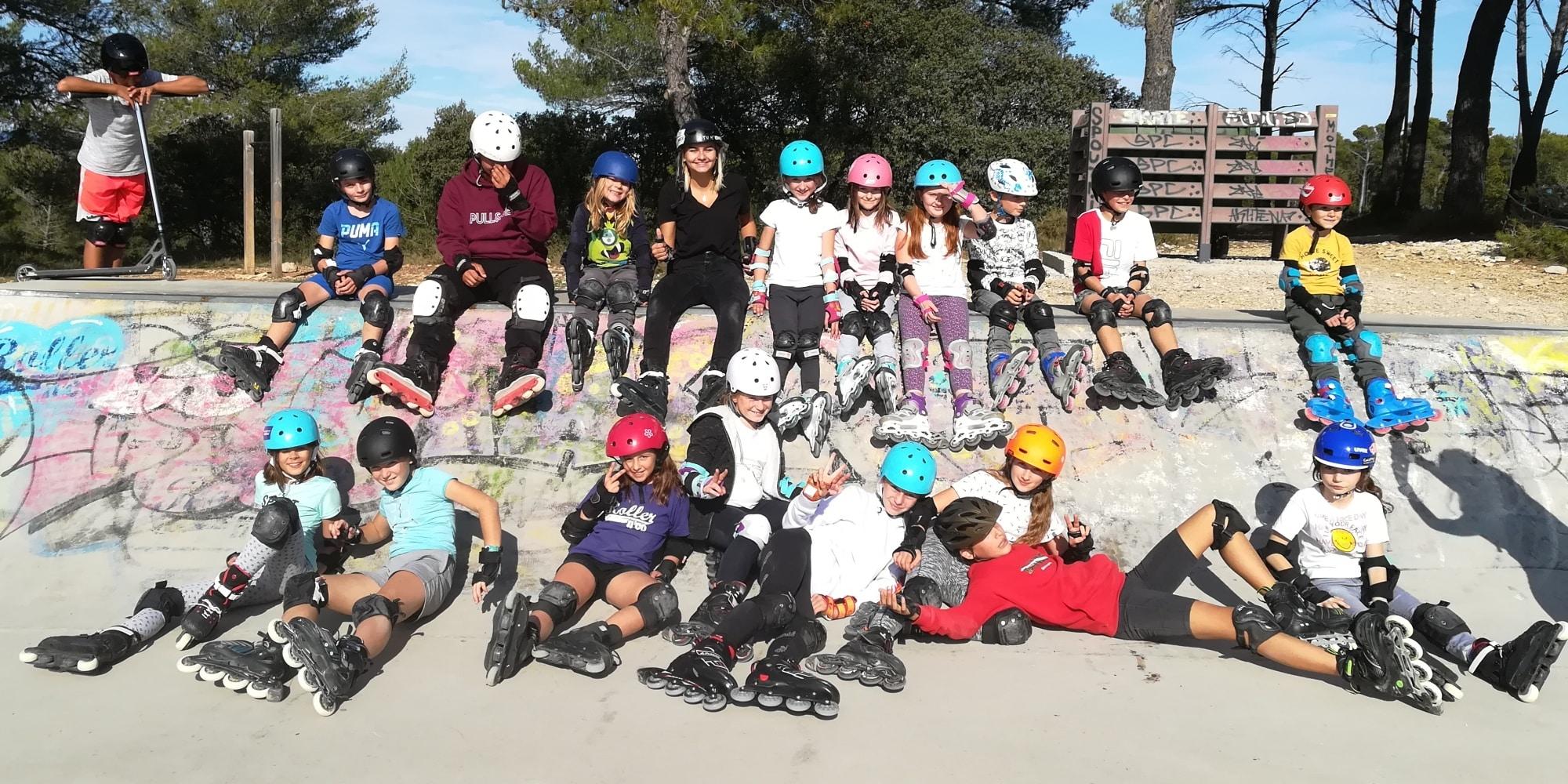 Portes ouvertes Skate Park avec Armelle TISLER - USV