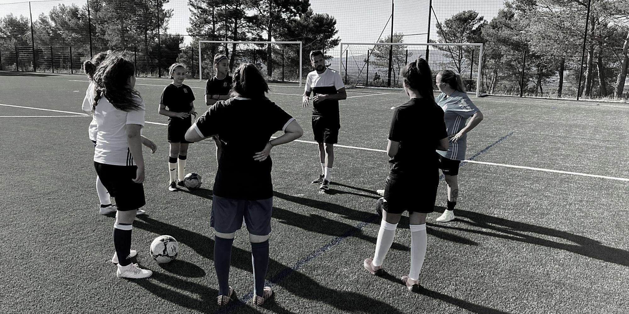 Développement du football féminin - USV