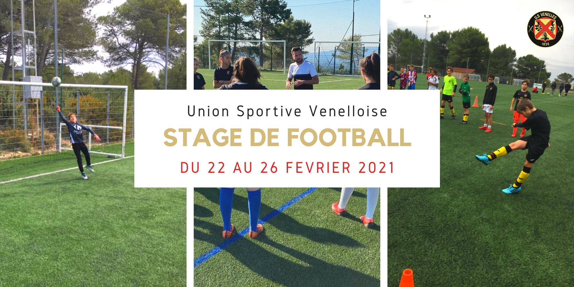 Stage de Février de Football 2021 - USV