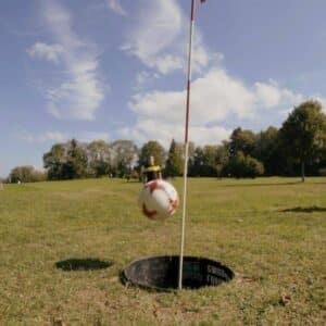 L'USV s'essaye au Foot Golf !
