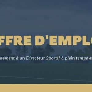Recrutement Directeur Sportif - US Venelles