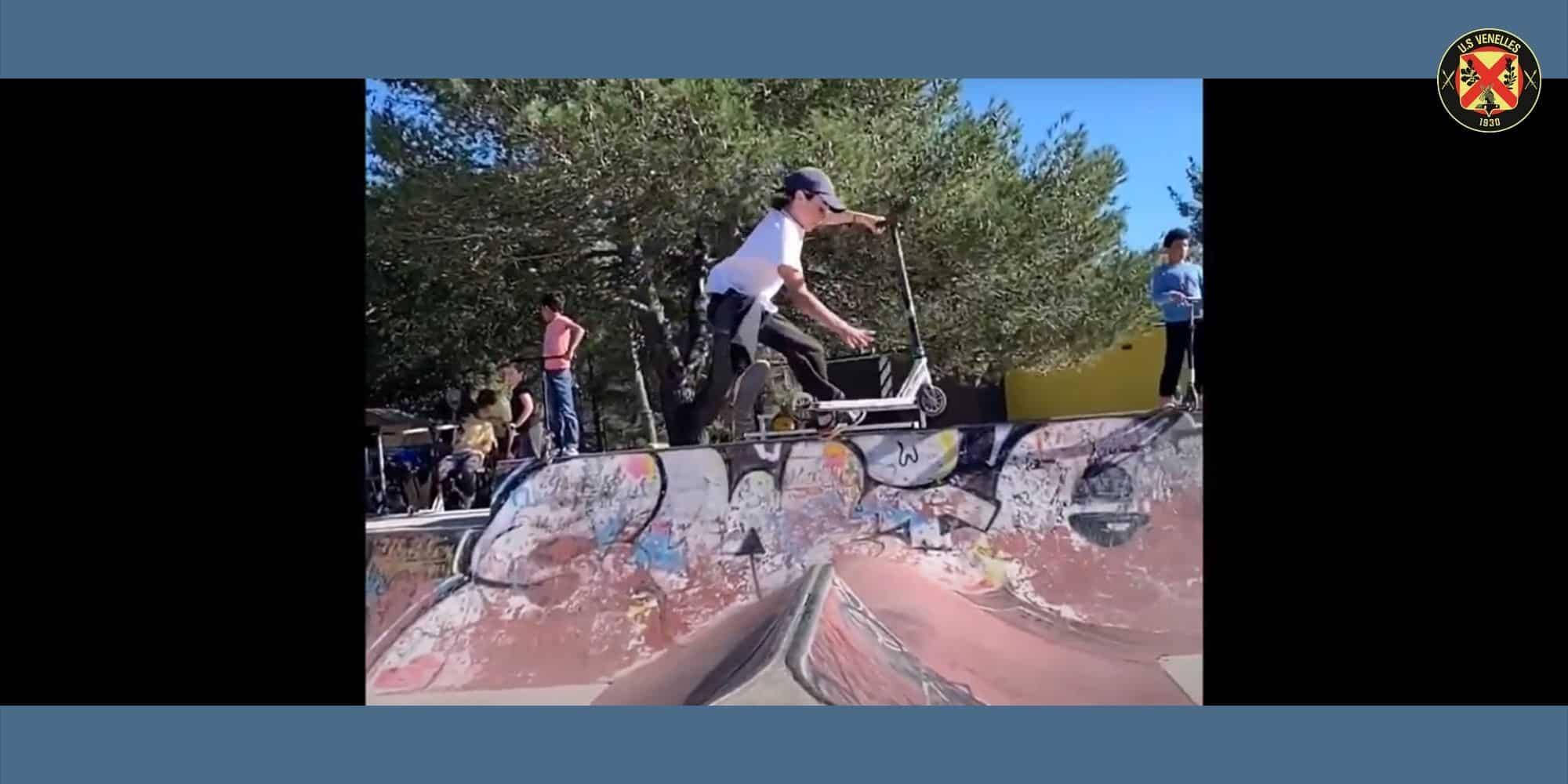 L'équipe d'ambassadeurs du Skate Park se présente... en vidéo ! - US Venelles