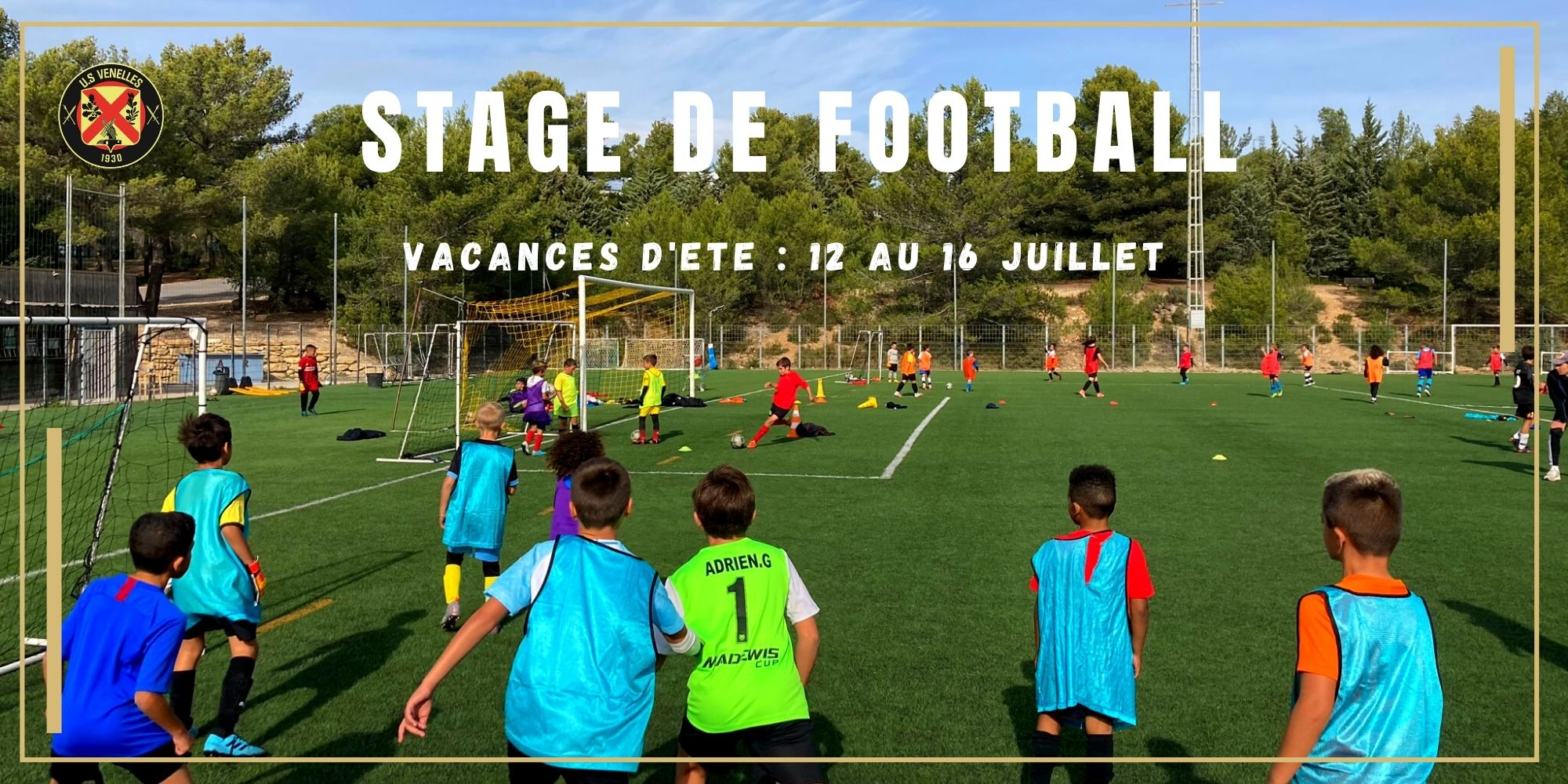 Stage de foot Juillet - USV