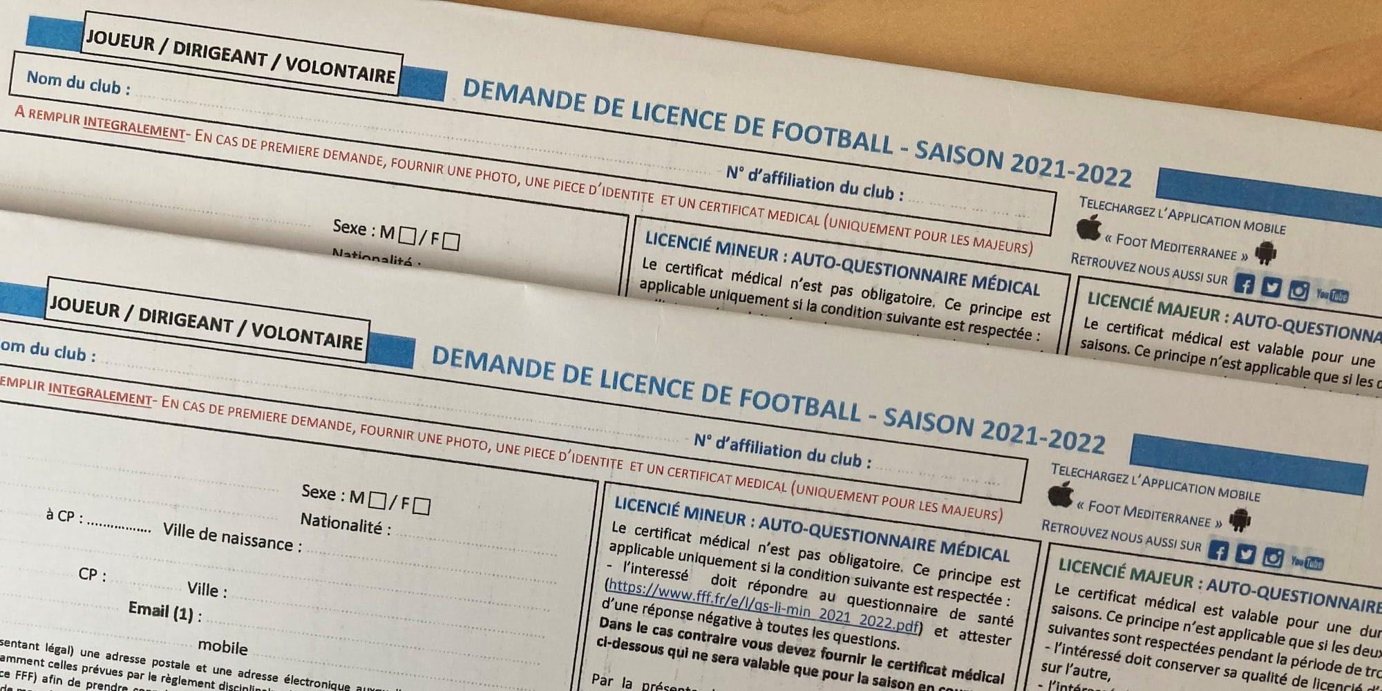 Procédure licences 2021-2022 - US Venelles